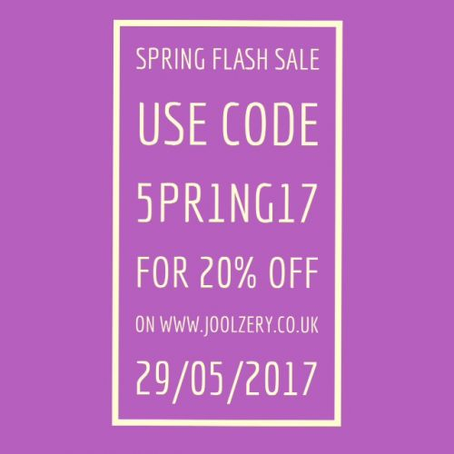 2017 May Spring Bank Holiday Flash Sale Voucher code