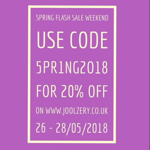 2108 May Bank Holiday Flash Sale Voucher Code