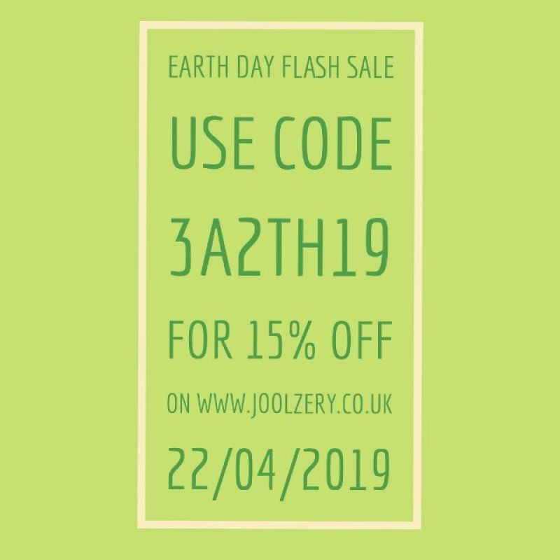 2019 Earth Day Flash Sale Voucher Code