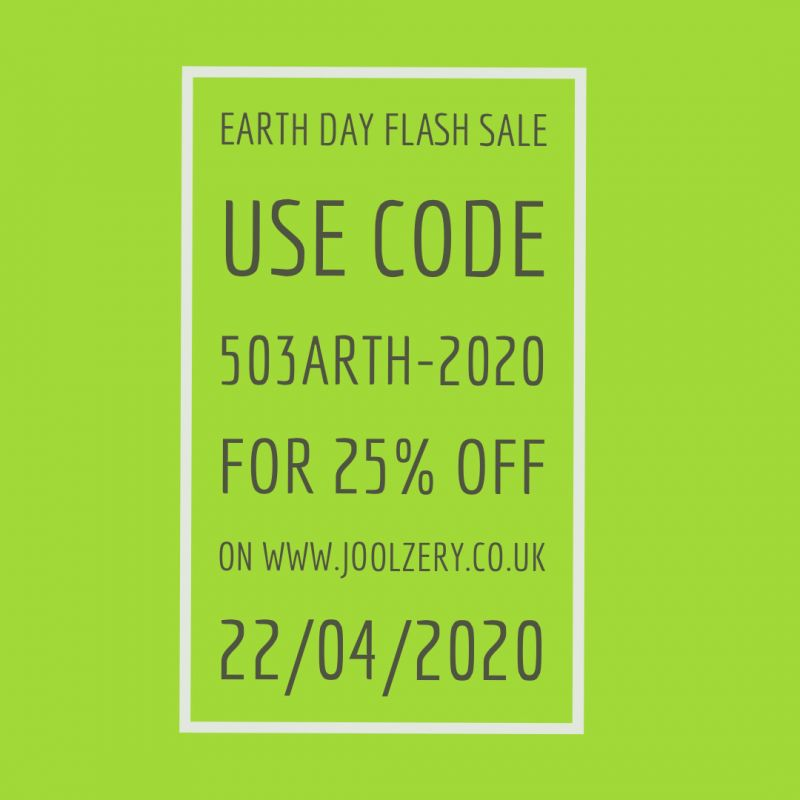 2020 Earth Day Sale Voucher