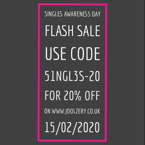 2020 Single Awareness Day Flash Sale Voucher