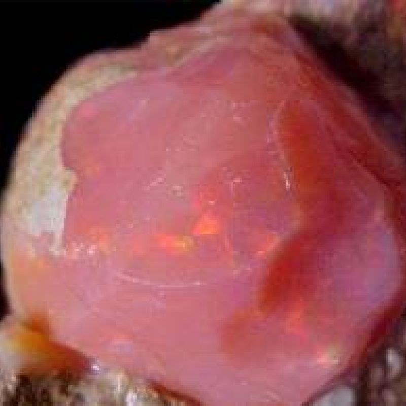 Raw Pink Opal crystal metaphysical properties, meanings, uses, benefits, healing energies, chakras