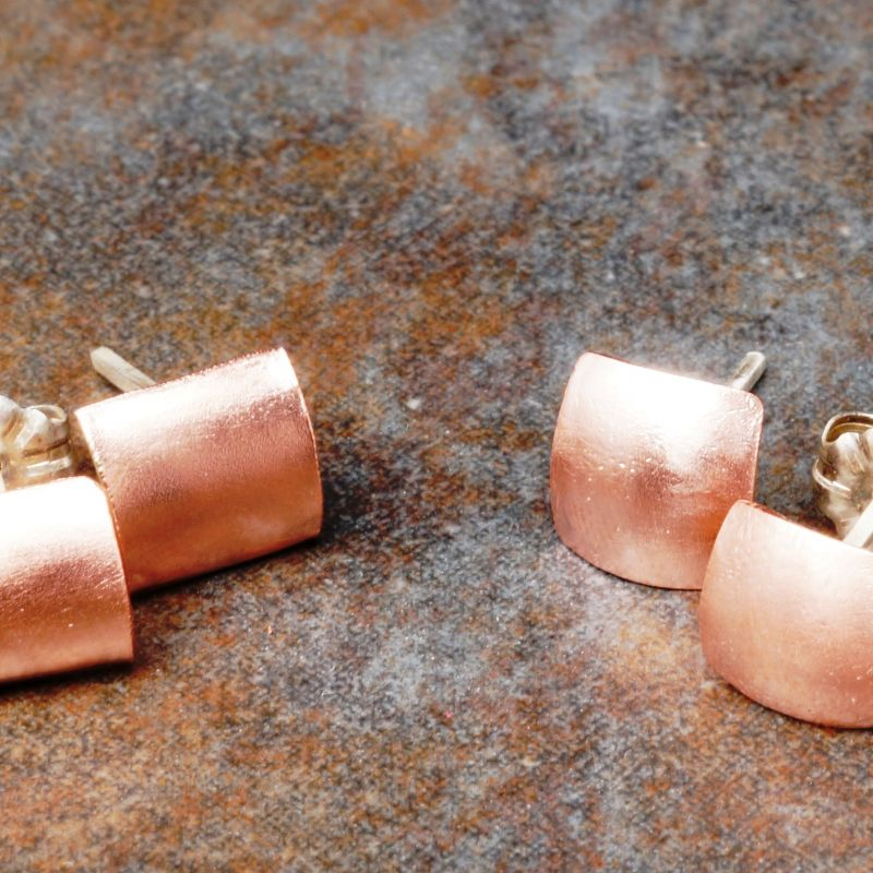February Prize Giveway Copper Studs Swage vs Domed