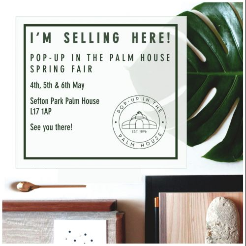 2019 May Spring Market at the Palm House flyer