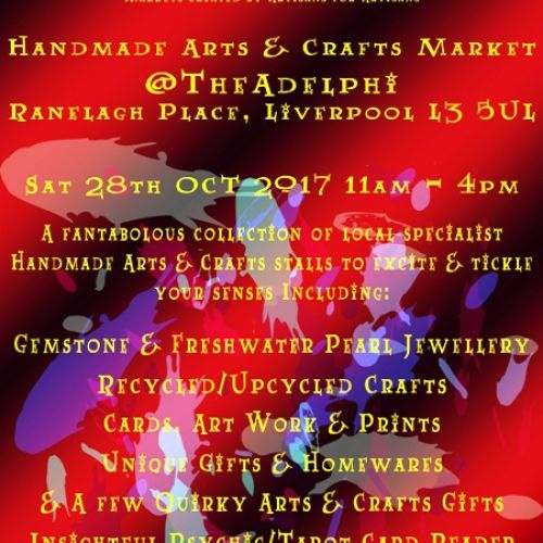 2017 The Artisan Collective October Handmade Market Flyer