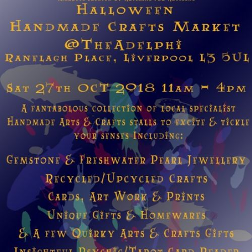 2018 The Artisan Collective October Handmade Market Flyer
