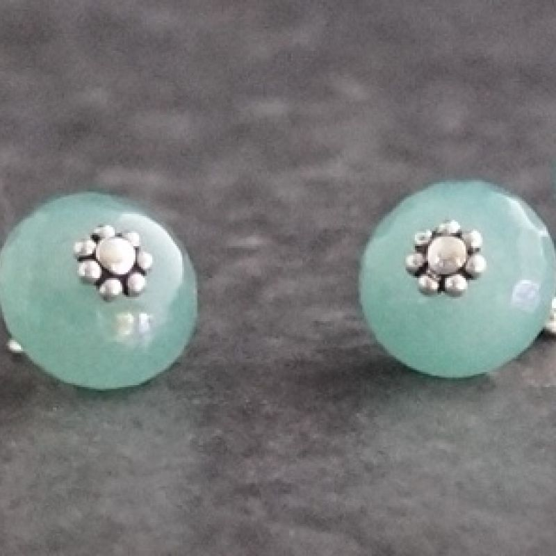 Faceted Aventurine Cufflinks 02