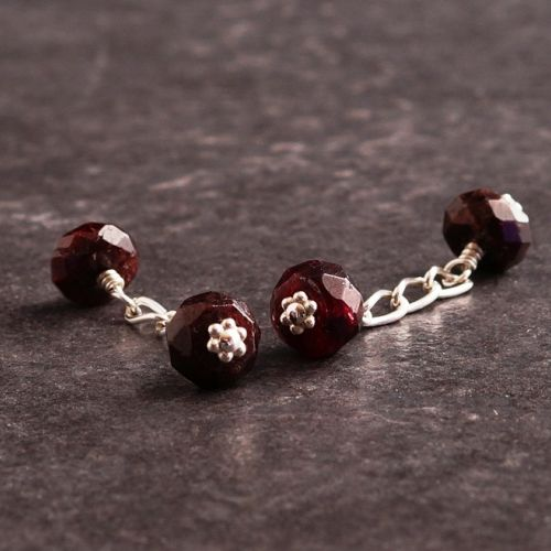 Garnet Cufflinks 01 Full View