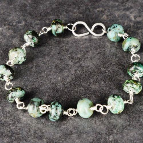 African Turquoise Bracelet 01 Full View