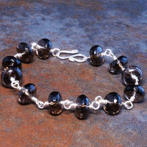 Smokey Quartz Bracelet 02 Full View