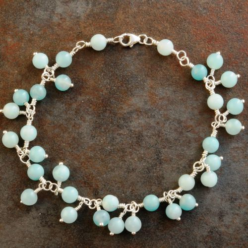 Amazonite charm bracelet 01 Full View