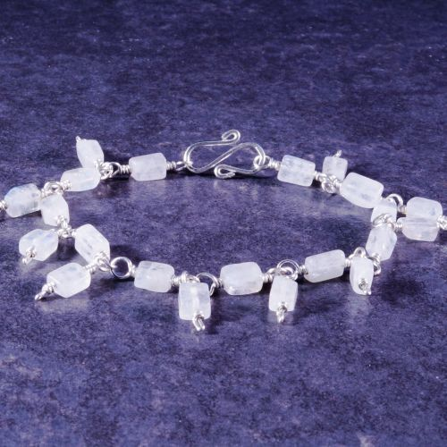 Charming Moonstone Bracelet 01 Full View