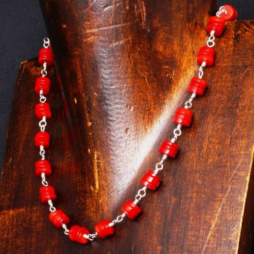 Red Coral Choker 02 Full View