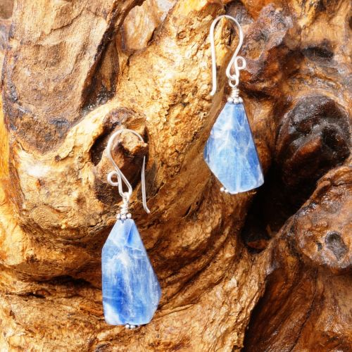 Kyanite Slabs Earrings 01