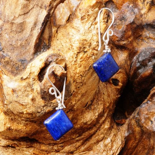Lapis Lazuli Earrings 06
