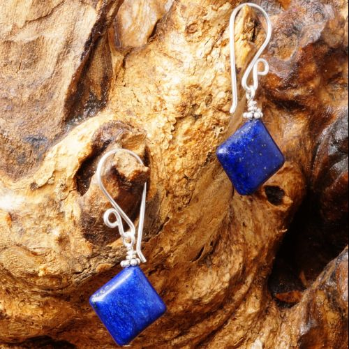 Lapis Lazuli Earrings 06 Full View