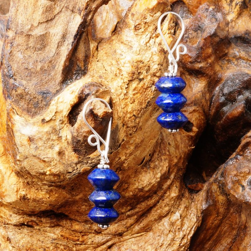 Lapis Lazuli Earrings 07