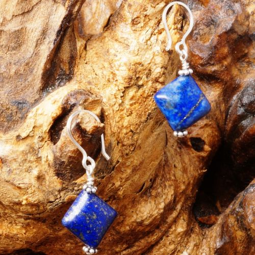 Lapis Lazuli Earrings 08 Full View
