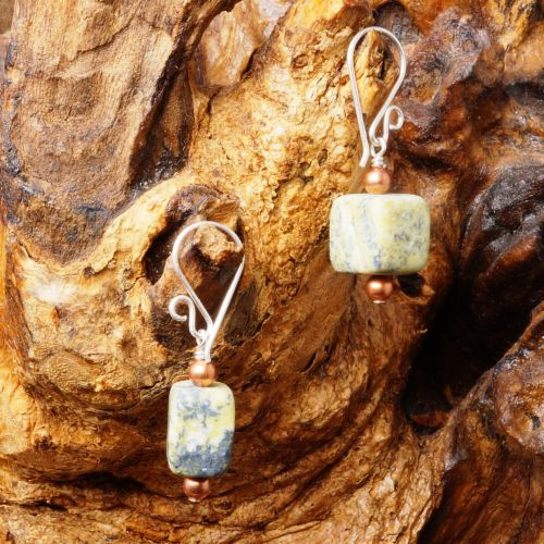 Yellow Turquoise Earrings 03