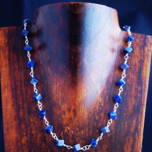 Sodalite Choker 01 Full View